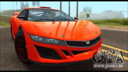 Dinka Jester Racecar (GTA V) für GTA San Andreas