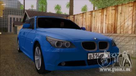 BMW 520i E60 pour GTA San Andreas