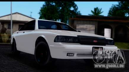 Civillian Vapid Stanier II from GTA 4 IVF pour GTA San Andreas