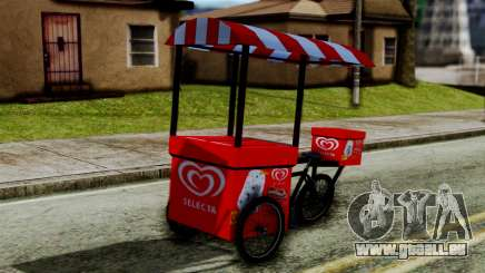 Selecta Ice Cream Bike für GTA San Andreas