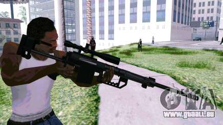 Cheytac M200 Black pour GTA San Andreas