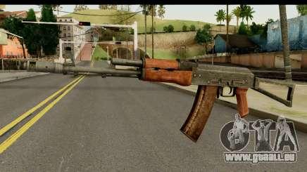 AKS-74 Dunklem Holz für GTA San Andreas