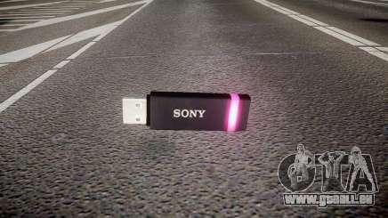 Lecteur flash USB Sony violet pour GTA 4