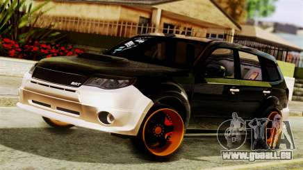 Subaru Forester Stanced pour GTA San Andreas
