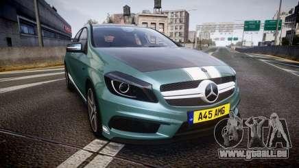Mersedes-Benz A45 AMG PJs5 pour GTA 4