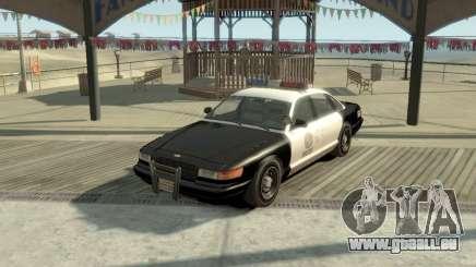 GTA V Vapid Stanier Police Cruiser pour GTA 4