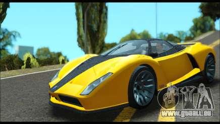 Grotti Cheetah v3 (GTA V) (IVF) pour GTA San Andreas