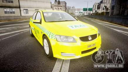 Holden Commodore Omega Series II Taxi v3.0 für GTA 4