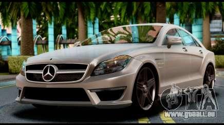 Mercedes-Benz CLS 63 AMG 2010 pour GTA San Andreas