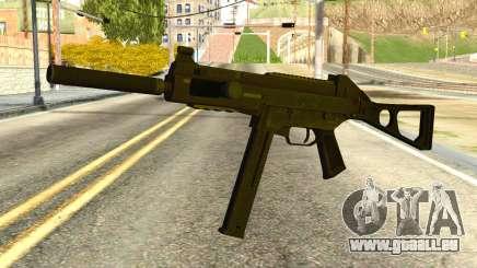 UMP45 from Global Ops: Commando Libya für GTA San Andreas