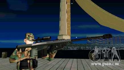Barret M107 pour GTA San Andreas