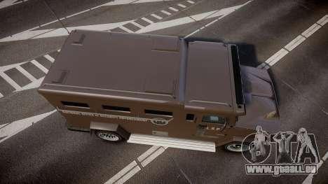 GTA V Brute Police Riot für GTA 4 rechte Ansicht