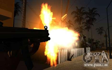 IMFX Gunflash pour GTA San Andreas deuxième écran