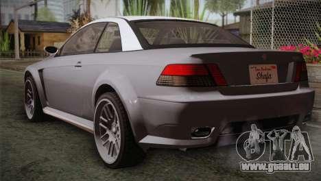 GTA 5 Sentinel pour GTA San Andreas laissé vue