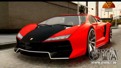 GTA 5 Pegassi Zentorno v2 IVF für GTA San Andreas