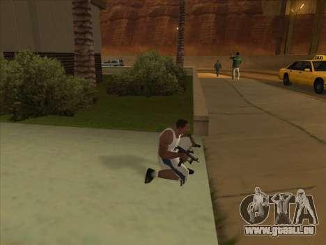 Russe pistolets-mitrailleurs pour GTA San Andreas quatrième écran
