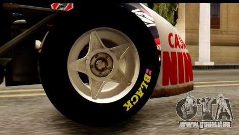 Chevrolet Series 2 Turismo Carretera Mouras pour GTA San Andreas vue de droite