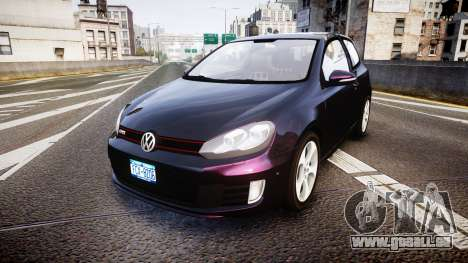 Volkswagen Golf Mk6 GTI rims1 pour GTA 4