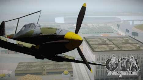ИЛ-10 Russian Air Force pour GTA San Andreas vue de droite