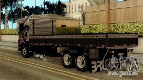 Scania 124G R400 Hatsune Miku Livery pour GTA San Andreas laissé vue