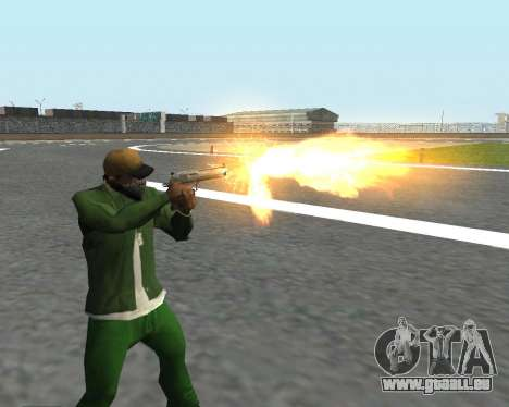 De beaux clichés à partir d'armes pour GTA San Andreas quatrième écran