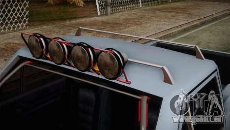 Camber Bobcat Editon für GTA San Andreas rechten Ansicht