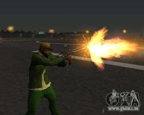 De beaux clichés à partir d'armes pour GTA San Andreas douzième écran