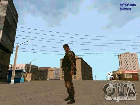 Cosaque Du Don pour GTA San Andreas troisième écran