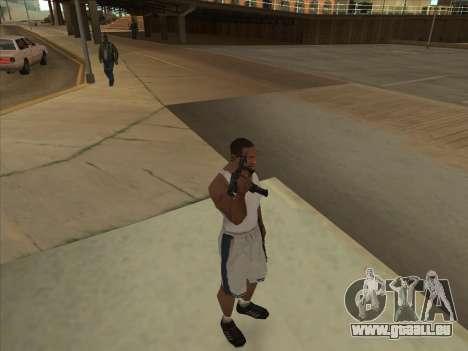 Russe pistolets-mitrailleurs pour GTA San Andreas septième écran