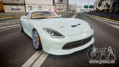Dodge Viper SRT 2013 rims3 für GTA 4