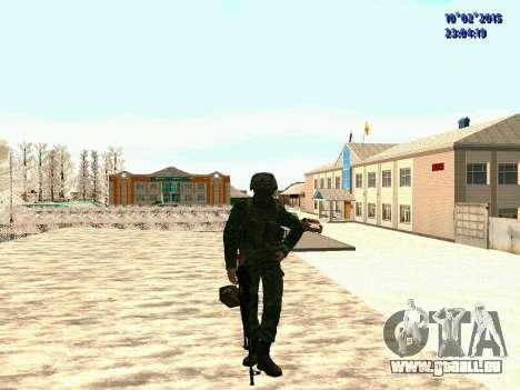 Spetsnaz MVD pour GTA San Andreas deuxième écran