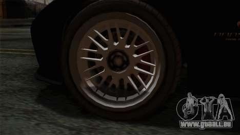 GTA 5 Bravado Banshee IVF pour GTA San Andreas sur la vue arrière gauche