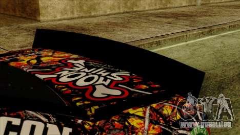NASCAR Chevy SS 2013 für GTA San Andreas rechten Ansicht