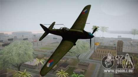 ИЛ-10 Tschechische Luftwaffe für GTA San Andreas
