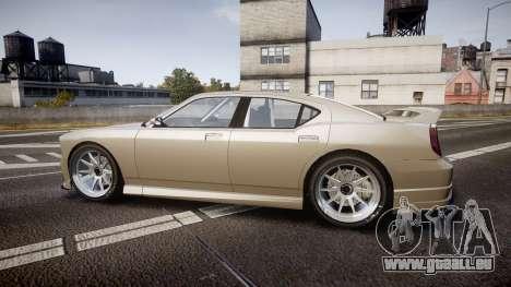 Bravado Buffalo Supercharged 2015 für GTA 4 linke Ansicht