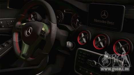 Mercedes-Benz A45 AMG Camo Edition für GTA San Andreas rechten Ansicht