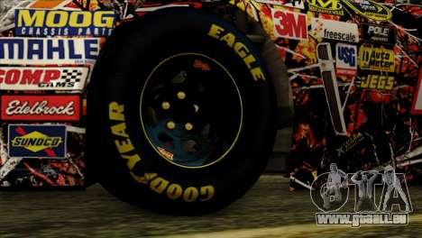 NASCAR Chevy SS 2013 für GTA San Andreas zurück linke Ansicht