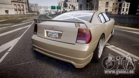 Bravado Buffalo Supercharged 2015 pour GTA 4 Vue arrière de la gauche