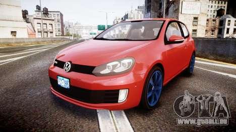Volkswagen Golf Mk6 GTI rims3 pour GTA 4