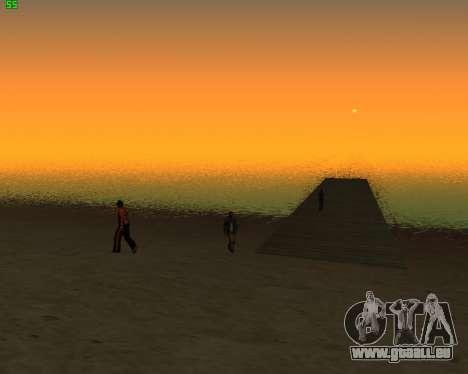 ENB JP für GTA San Andreas zweiten Screenshot
