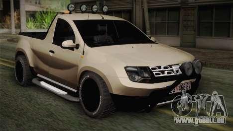 Dacia Duster Pickup 2014 pour GTA San Andreas