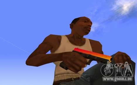 Glock-18 Farbverlauf CS:GO für GTA San Andreas