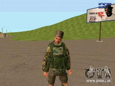 Cosaque Du Don pour GTA San Andreas quatrième écran