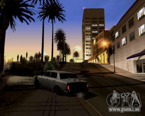 Graphic Update ENB Series pour GTA San Andreas deuxième écran