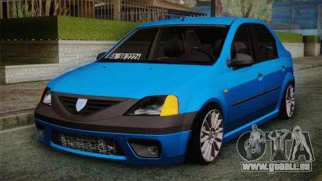Dacia Logan 2006 pour GTA San Andreas
