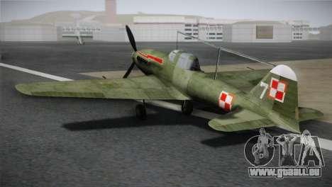 ИЛ-10 de la Marine polonaise pour GTA San Andreas laissé vue