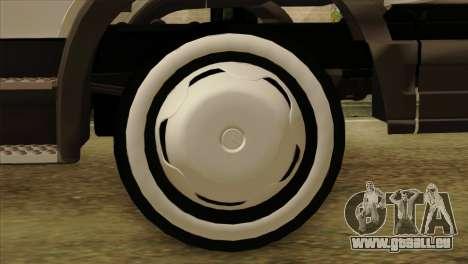 Mercedes-Benz Atego Hal Kamyonu pour GTA San Andreas sur la vue arrière gauche