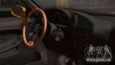 BMW E36 Drift pour GTA San Andreas vue de droite