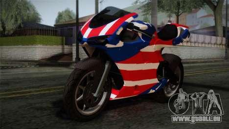 GTA 5 Bati American pour GTA San Andreas