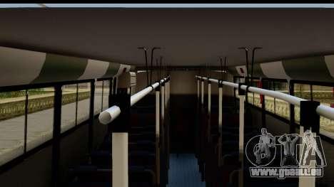 Marcopolo Torino GV Linea 29 Panchito Lopez pour GTA San Andreas sur la vue arrière gauche